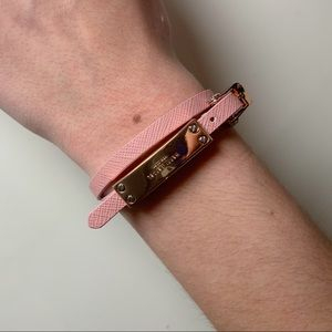 Henri Bendel Light Pink Wrap Bracelet